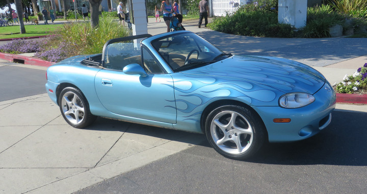 2002 Miata MX-5 - Sky Blue - Sold