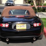 Black 2006 MX5 Miata Grand Touring