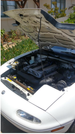 1995 Mazda MX5 - White