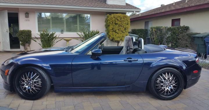 Mazda Miata MX-5 Convertible Stormy Blue