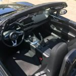 Black 2016 Mazda Miata MX-5 Club Seats