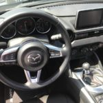 Black 2016 Mazda Miata MX-5 Club Steering Wheel