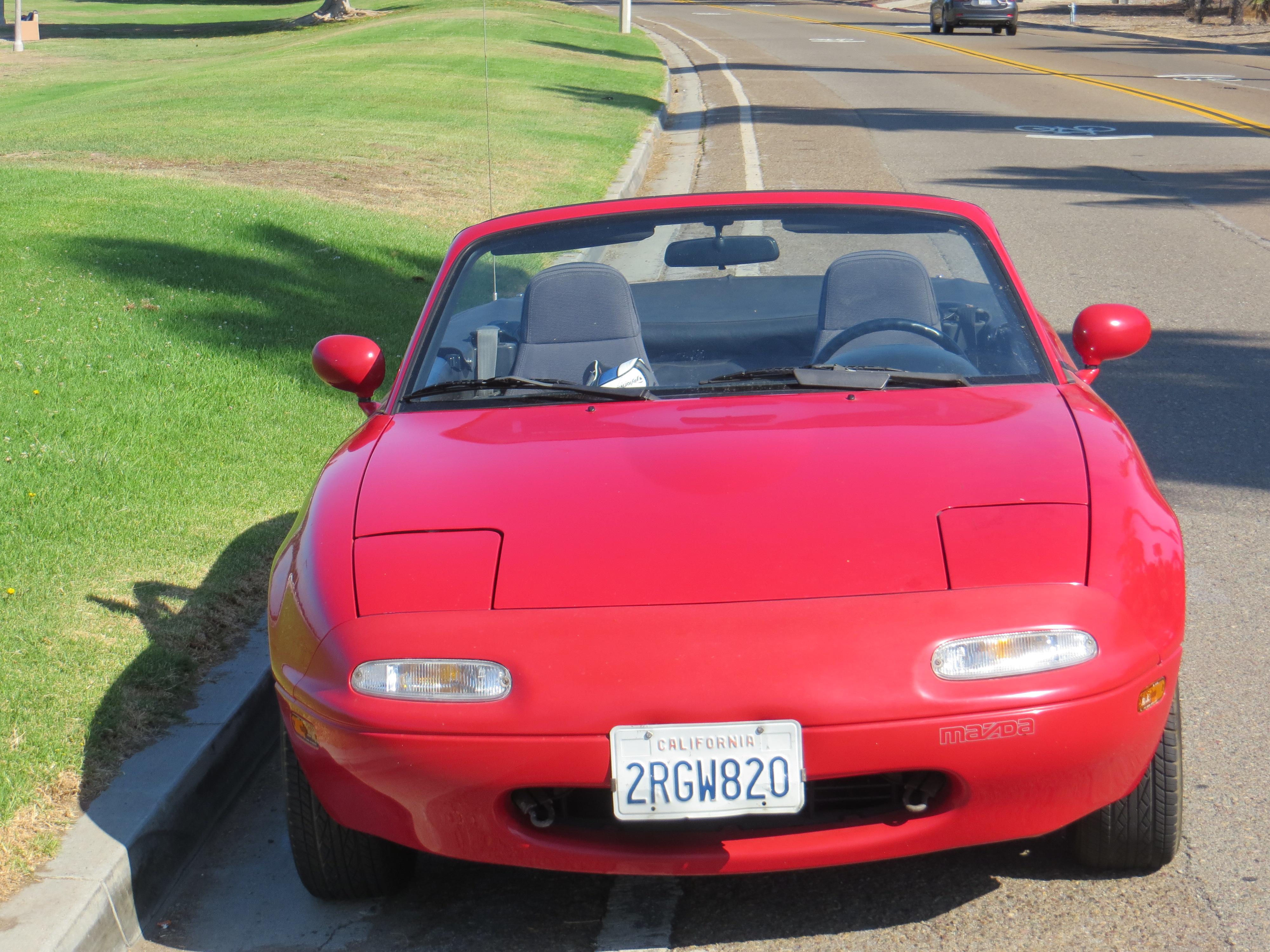 1990 Red Miata