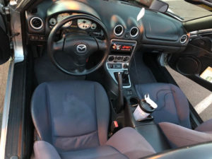 2004 Miata Azure Blue Cloth package -- Manual