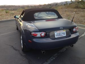 2007 MX5 Miata Grand Touring Back