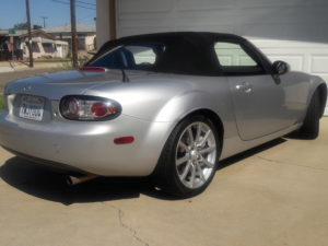 2006 Miata Limited Back