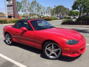 2004 Pristine Mazda MX-5 Right